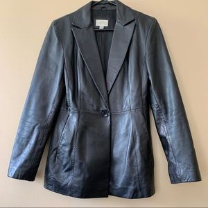 Vintage 100%Leather Jacket from Cache